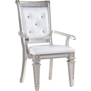 Fairfax Home Collections Tiffany Arm Chair (Set of 2)