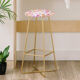 Hello Sayang Love Triangles 31 Bar Stool by East Urban Home