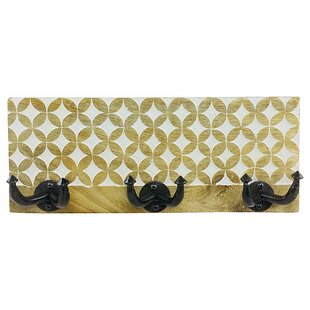 Fletcher Wall Mounted Coat Rack By World Menagerie