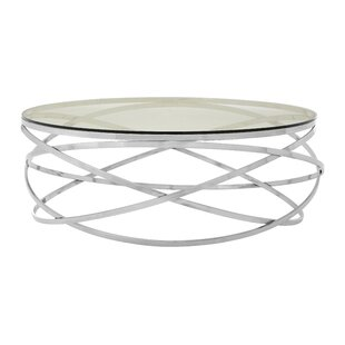 Aguilera Round Coffee Table By Canora Grey