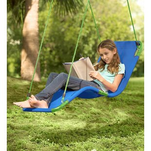 HearthSong Olefin Hanging Chaise Lounger