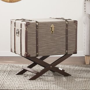 Nunzio Linen File Storage Trunk by Darby Home Co