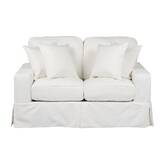 Elsberry Box Cushion Loveseat Slipcover by Darby Home Co