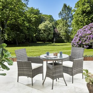 Mossley 2 Seater Dining Set With Cushions Image