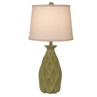 Jackson Heights Indented Diamond 24 Table Lamp
