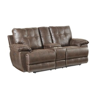Lucio Tuffed Reclining Loveseat
