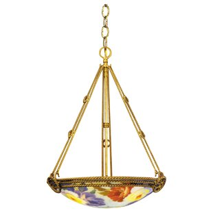 JB Hirsch Home Decor 3-Light Bowl Chandelier