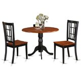 Starrett 3 Piece Dining Set by Charlton Home®