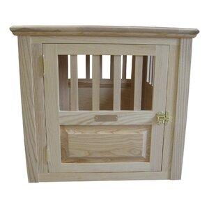 Ines Handmade Furniture-Style Pet Crate
