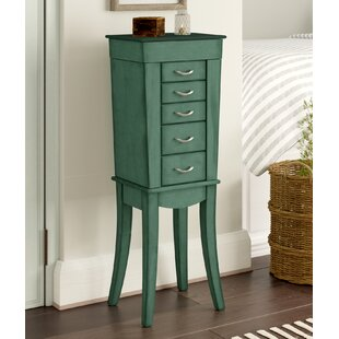 Looking for Mcbrayer 5 Drawer Jewelry Armoire- Sea Green ByAugust Grove