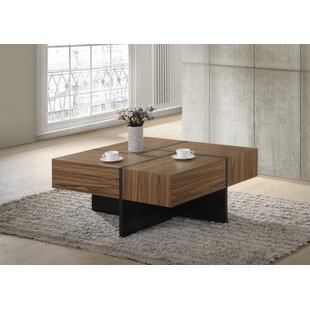 Buy clear Chattooga Modern Wood Coffee Table By Brayden Studio