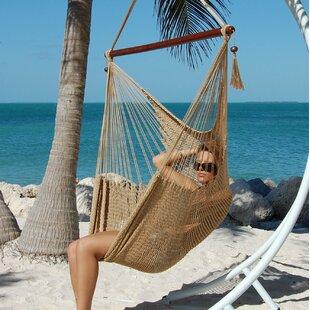 Bungalow Rose Travis Large Caribbean Polyester Chair Hammock