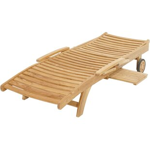 Alban Reclining Sun Lounger By Sol 72 Outdoor