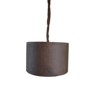 Detrick 1-Light Drum Pendant by World Menagerie
