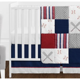 Baseball Patch 11 Piece Crib Bedding Set
