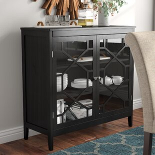 Zauber Large 2 Door Accent Cabinet by Charlton Home