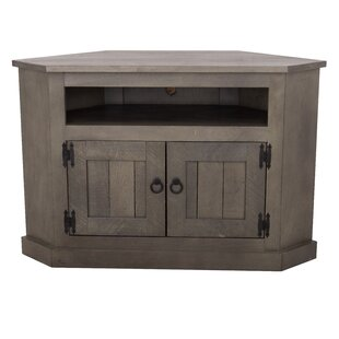 Dunstable Solid Wood Corner TV Stand For TVs Up To 60