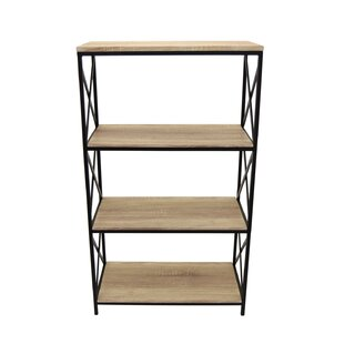 Kimura Shelf Etagere Bookcase by Alcott Hill