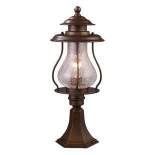 Order Wikshire 1-Light Pier Mount Light By Landmark Lighting