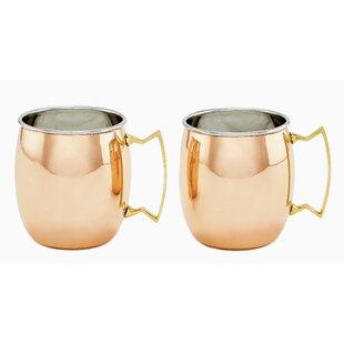 16 oz. Moscow Mule Mug (Set of 2)