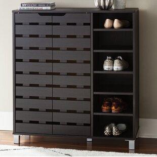 Zipcode Design 24-Pair Shoe Storage Cabinet