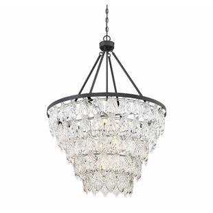 Gracie Oaks Wyche 7-Light Crystal Chandelier