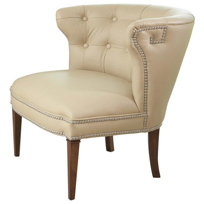 Delightful Greek Key Klismos Barrel Chair