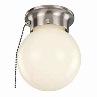 Savings Idlewyld 1-Light Flush Mount By TransGlobe Lighting