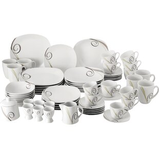 62 Piece Dinnerware Set  sc 1 st  Wayfair & Dinner Sets | Wayfair.co.uk