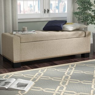 Three Posts Gearheart Storage Ottoman