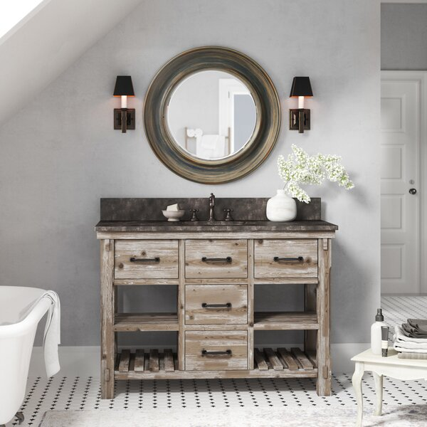 Laurel Foundry Modern Farmhouse Clemmie 49 Single Bathroom Vanity Set Reviews Wayfair