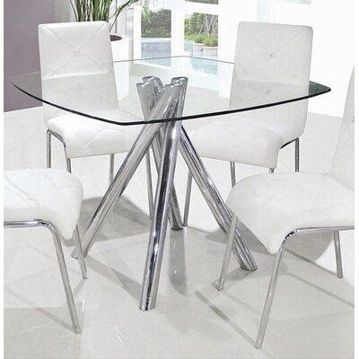 Sophie Mirrored Dining Table | Wayfair