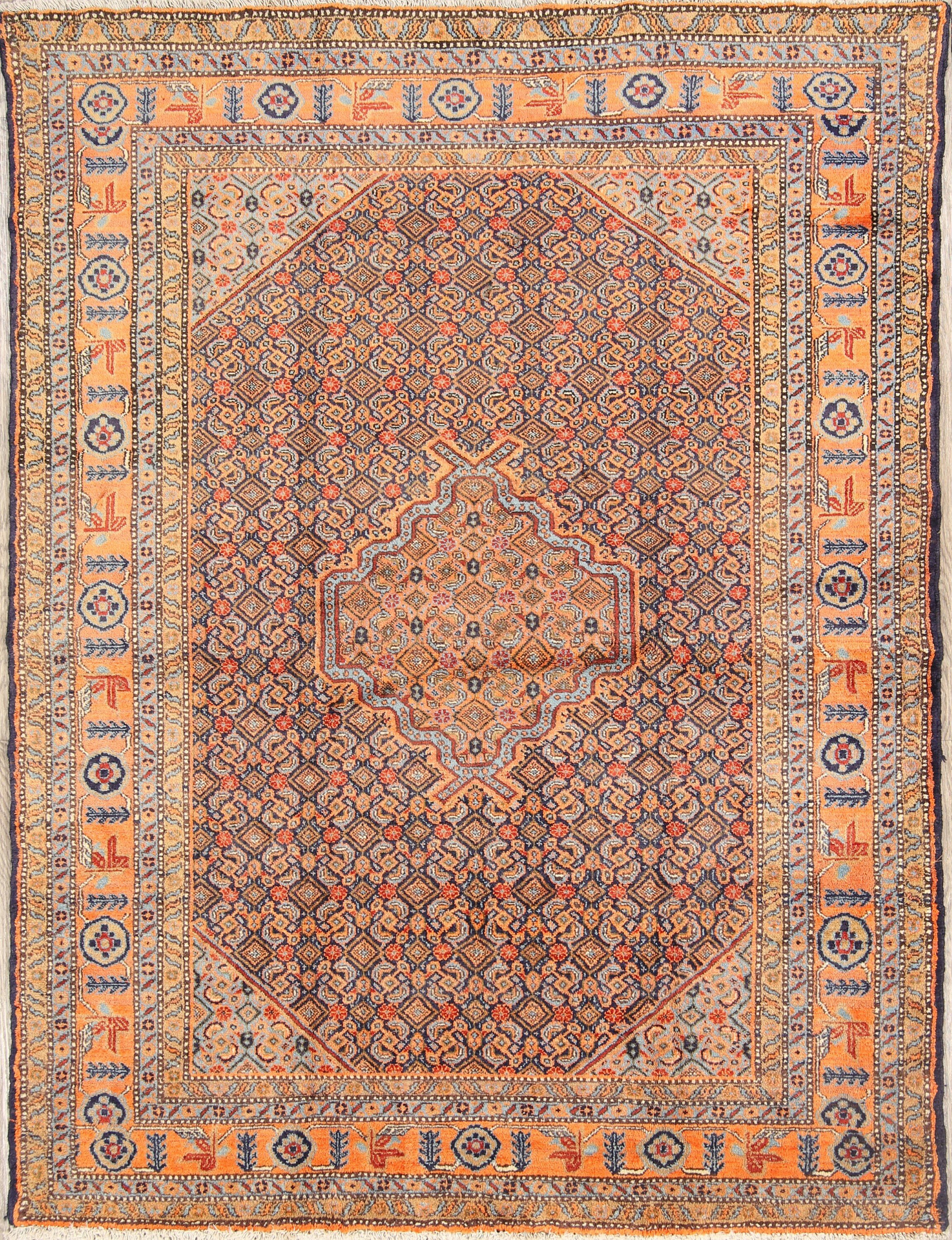 Vintage Persian Hand Knotted