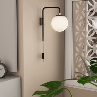Plug In Wall Sconce With Cord Wayfair Ca