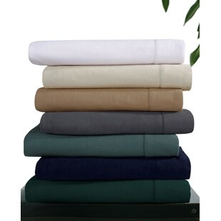 Flannel Solid Extra Deep Pocket Sheet Set