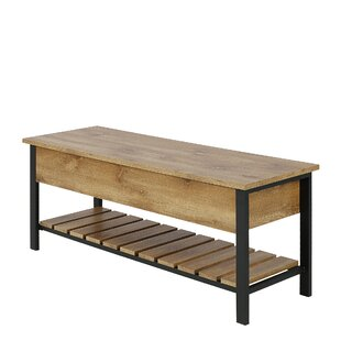 Bennett Open-Top Storage Bench By Three Posts