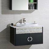 Donatello 32 Wall-Mounted Single Bathroom Vanity Set by Orren Ellis
