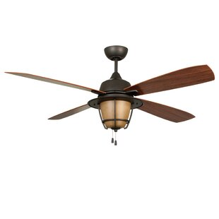 56 Faya 4-Blade Outdoor Ceiling Fan with Downrod