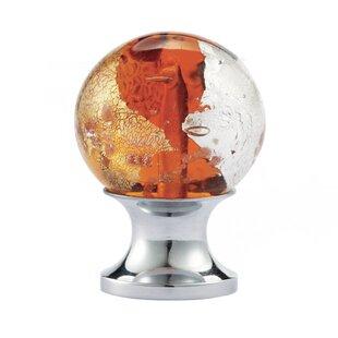 Blown Glass Round Knob