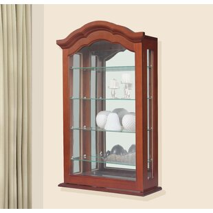 Waterside Wall Mounted Curio Cabinet By Astoria Grand