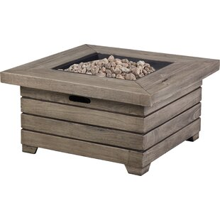 Alondra Park Resin Propane Fire Pit Table