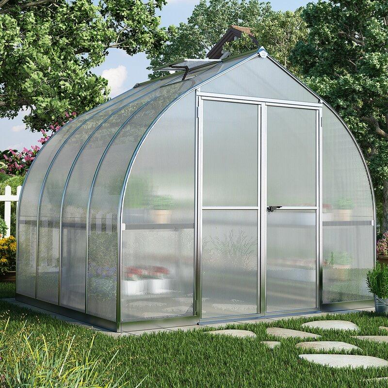 Bella 8 Ft  W x 8 Ft  D Greenhouse