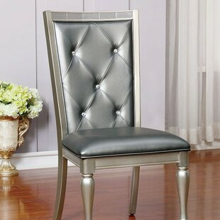 Lindsay Upholstered Dining Chair (Set of 2) Rosdorf Park