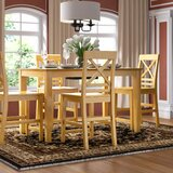Smyrna Solid Wood Dining Set by Charlton Home®