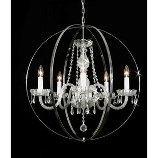 Meredith 5-Light Chandelier by House of Hampton