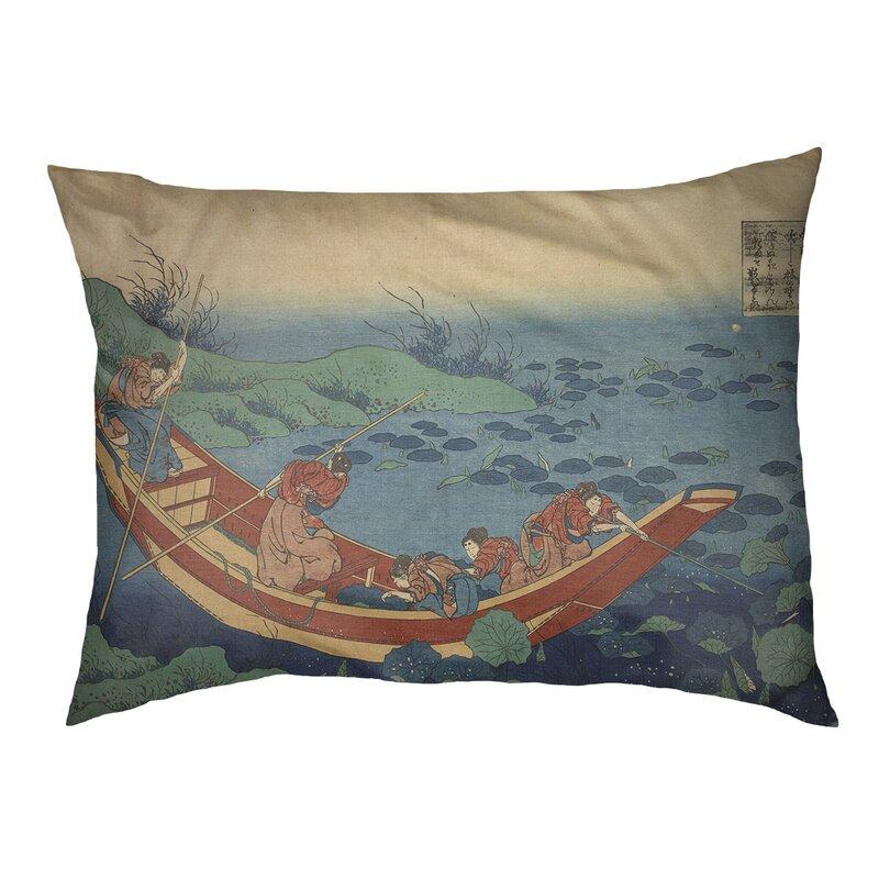Tucker Murphy Pet Burkart Boat Among The Lily Pads Dog Pillow Wayfair