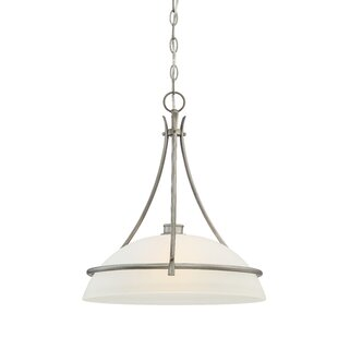 Red Barrel Studio Amee Modern 1-Light Dome Pendant