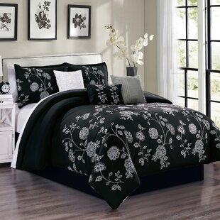 Kaela Embroidery Comforter Set