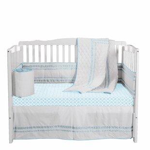 Bertie 4 Piece Crib Bedding Set