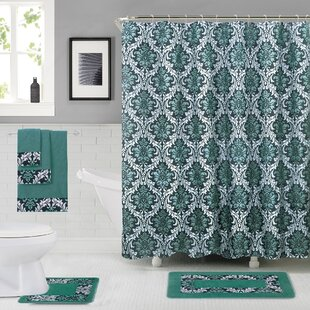Read Reviews Eramana Shower Curtain Set ByDarby Home Co